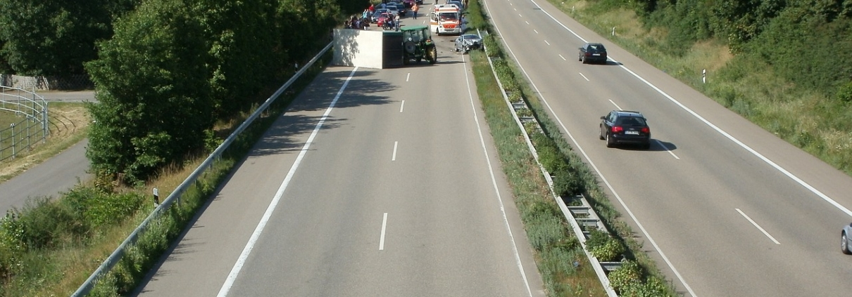 odškodnina za prometno nesrečo